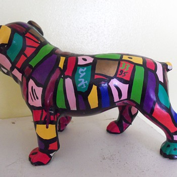 Rainbow Bulldog - Animals