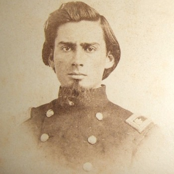 Cherokee Civil War officer from Texas - Photographs