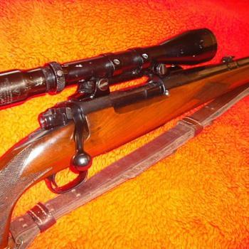 Dad's Pre-1964 Model 70 Winchesters