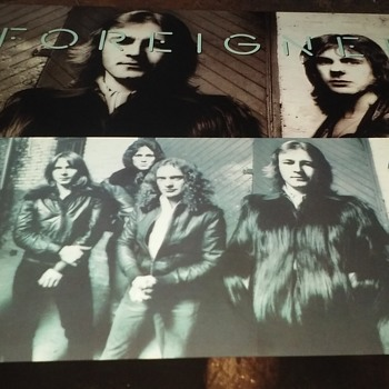 Foreigner....On 33 1/3 RPM Vinyl - Records
