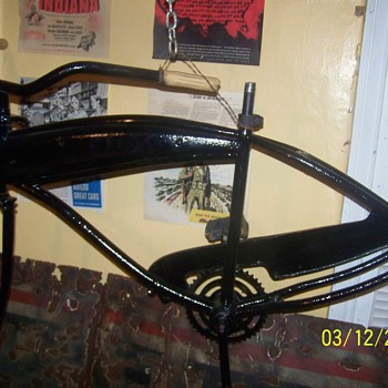an old bicycle  - Sporting Goods