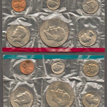 1975 - U.S. Mint Coins Set