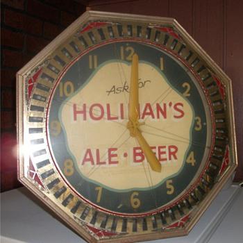 Brewery Spinner Clock