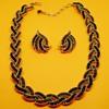 Crown Trifari Cavalcade Necklace Set