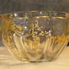 Victorian gilt enamel bowl