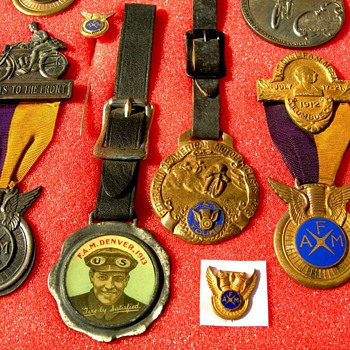 FAM Medals and other items I collect - Medals Pins and Badges