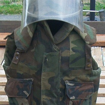 Some of my LA Riot gear - Military and Wartime