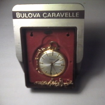 Bulova Caravelle Pocket Watch - Pocket Watches
