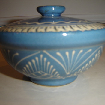 Small Covered Bowl