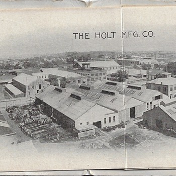 Holt Bros. Manufacturing & Watch Fob - Advertising