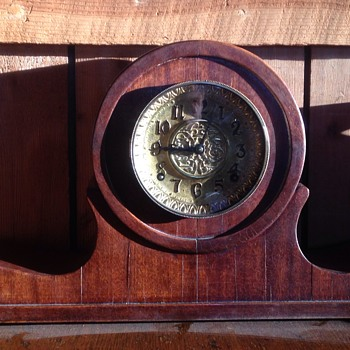 Brass face, no labels or maker marks.  - Clocks