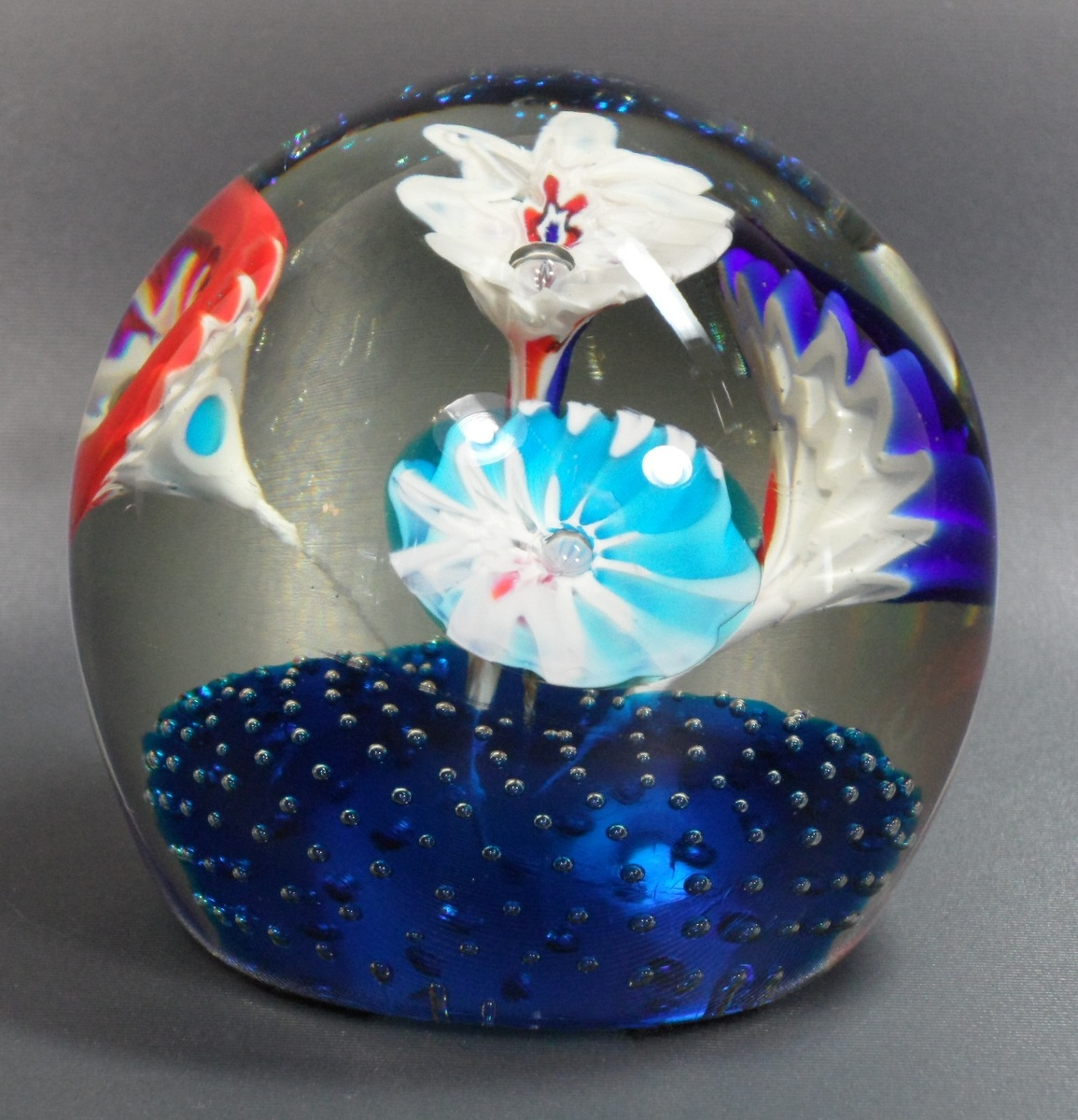 Fratelli Toso Trumpet Flower Paperweight Collectors Weekly