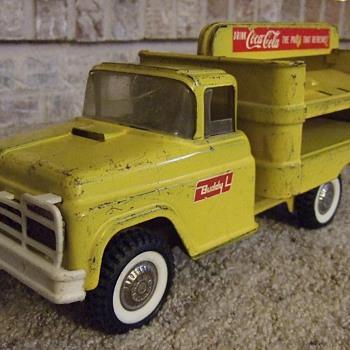 My First Coca-Cola Truck - Buddy L Coca-Cola Truck 1950's- 60's - Coca-Cola