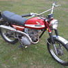 1970 K0 Honda CL100 Scrambler first year
