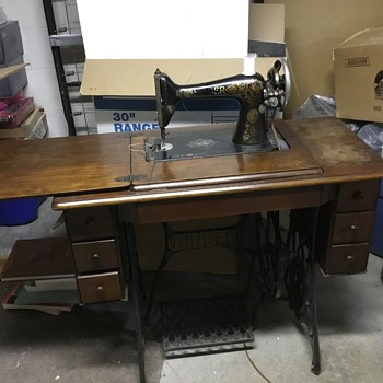Sewing Machine, Singer, G 373631, 1910 - Sewing