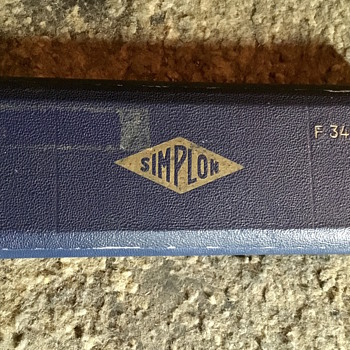 Simplon vintage compass drawing office equipment. - Office