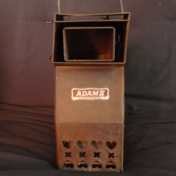 ADAMS of Pittsburgh Lantern Style Bottled Gas Heater?