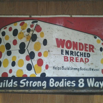 Wonder Bread Sign
