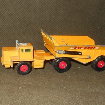 Maximum or Maybe Median Matchbox Monday KW-Dart Dump Truck KIng Size K-2 - Model Cars
