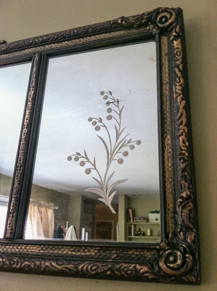 Antique Mantel Mirror Mission Accomplished Collectors Weekly