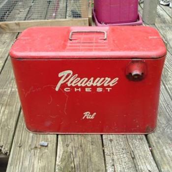 Pleasure Chest Cooler - Advertising