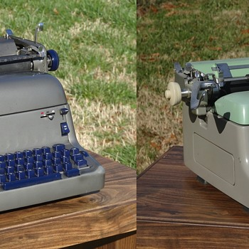 1950s Royal FP Typewriter & Royal RE Electric Typewriter