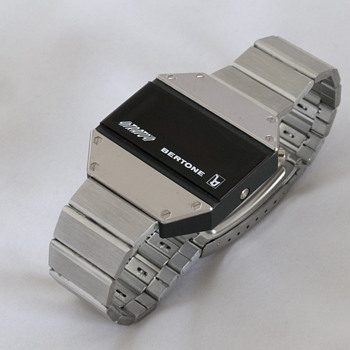 Bertone Strato's Led watch - Steel version - Wristwatches