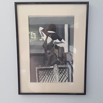 'Lucy Jane' artist for the future ? - Fine Art