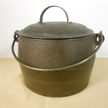 Early Cast Iron Pot
