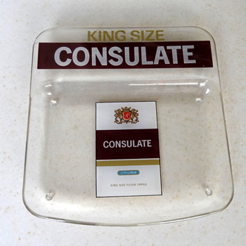 Consulate acrylic change tray. - Advertising