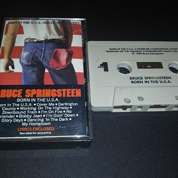 'The Boss'...On Cassette Tape - Records