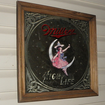 old mirror bar signs - Signs