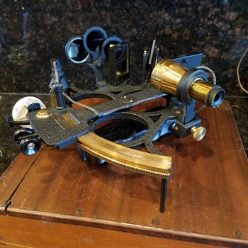 1951 Sextant Navigational Instrument, Kelvin & Hughes, UK - Tools and Hardware