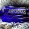 BRITISH POISON BOTTLE COBALT BLUE
