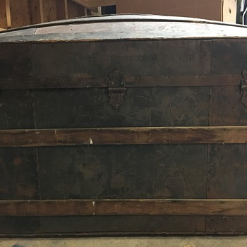 Vintage Steam Trunk - Furniture