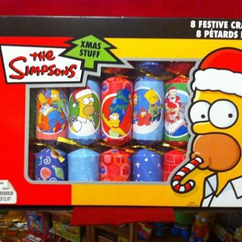 The Simpsons Xmas favours - Christmas