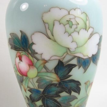 Beautiful Japanese Cloisonne Vase by Ando C1900 - Asian