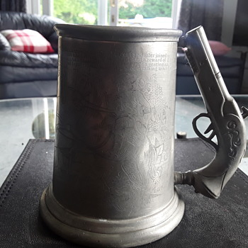 Dick Turpin pewter mug  - Kitchen