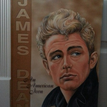 JAMES DEAN AN AMERICAN ICON TIN SIGN