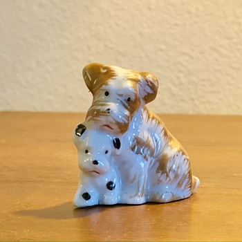 Japanese Ceramic Dogs - Animals