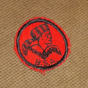 Saturday Evening Scout Post Frontiersman Patrol Patch Felt 1940s - Medals Pins and Badges