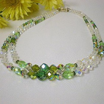 Vendome aurora borealis necklace