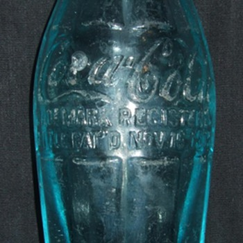 Very Rare BIM Hobbleskirt bottle. - Coca-Cola