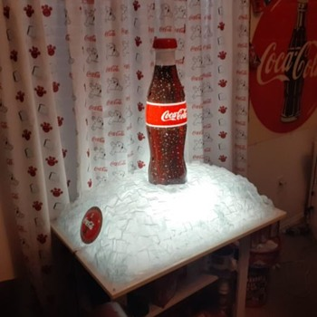 COKE ON ICE - Advertising