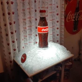 COKE ON ICE - Advertising
