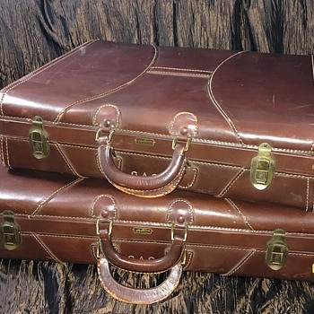 Old Luggage JC Higgins, Starline, and Hartmann