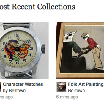 """""""Collections"""" is working again!"""