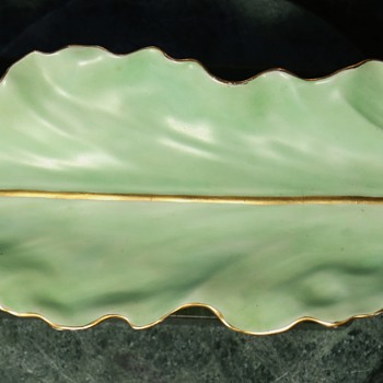 Extremely Long Limoges Pin or Trinket Tray - Pottery