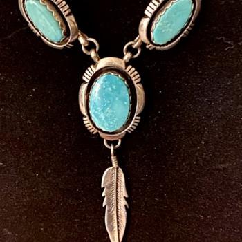 Native American Necklace Made by Leonard Nez - Fine Jewelry