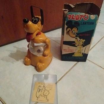 Linemar Pluto Lantern w/box - Toys